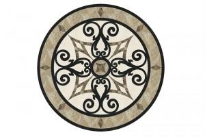 Đá hoa văn tròn Medallions And Inlays