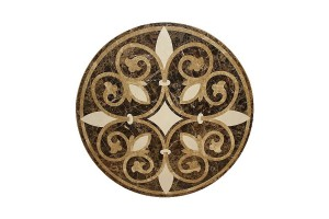 Đá hoa văn tròn Mediterranean